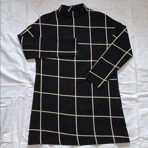Shein Grid Tunic Dress